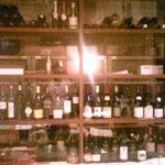 5849718 - カウンター正面のガラス張りワインセラー