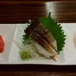 味ごよみ宮田 - 鮪・鯖の炙りと白魚・マコガレイ