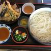 Teuchiudonhamadaya - 料理写真:釜揚げ天ぷらうどん