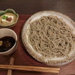 三瓶温泉 湯元旅館 - 料理写真:もりそば800円