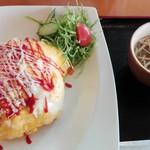 ハートフル千里浜 - 料理写真:2016/11 オムライス 650円