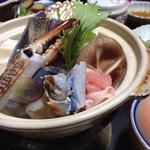 かねいし旅館 - お鍋(^з^)-☆