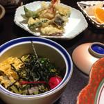 かねいし旅館 - 茶蕎麦 その他☆*:.。. o(≧▽≦)o .。.:*☆