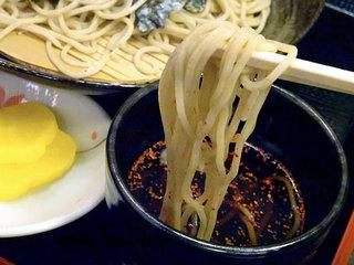 そば処 千寿 - 冷たい蕎麦