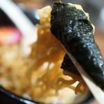 ラーメンKiRiちゃん - 海苔巻き