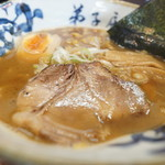 弟子屈ラーメン - 魚介しぼり醤油
