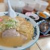 駅前札幌ラーメン - 料理写真:みそ + ライス