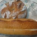 シゲパン - 料理写真:ミルクフランス&くるみクリームチーズ