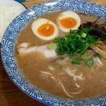 ひかり食堂 - 魚介醤油700円(細麺変更)+味玉100円めし100円 計900円m