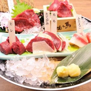 池袋で絶品肉料理を堪能するなら!種類豊富な「馬肉料理」