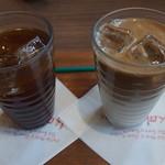 可否茶館 - (2016/09/20)アメリカンコーヒー・ICEカフェラテ