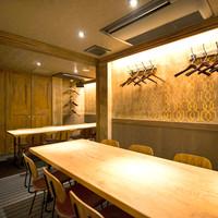 盛り上がれるプライベート空間!個室のテーブル席(2卓)