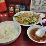 58497368 - 肉野菜炒め定食