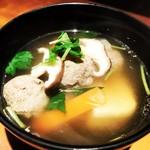 秋田料理 まさき - しょっつる いわしつみれ汁