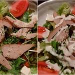 漁師料理 明神丸 - シーザーサラダです♪