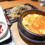 韓国料理 水刺齋 - スンドゥブチゲとプルコギ