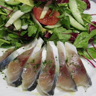 天然・味・鮮度にこだわった魚介類