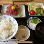 旬膳 かわきた - 料理写真:まぐろ中おち定食