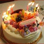 リビエール - 誕生日ケーキ