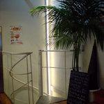 ハモニカキッチン - 極狭螺旋階段をのぼって下さい