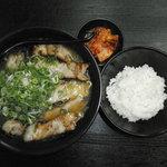 ラー麺マン - しょうゆラーメンチャーシュー入り定食