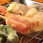 浅草厨房 - 串揚げ1本80円~100円でご用意しております!