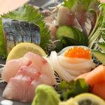 浅草厨房 - 新鮮な旬の魚介もお楽しみいただけますよ