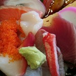 58500061 - 海鮮丼のアップ