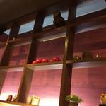 FUKUROO. - 2016.11.6来訪。 お店の内観です。 梟の置き物があります。