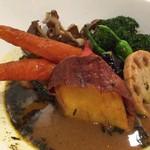 FUKUROO. - 野菜盛スープカリーアップ。 お野菜が甘くて美味しい♡ 女性好みのお味。