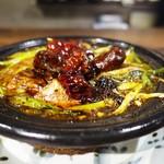 紅紅火火 - 麻婆豆腐 土鍋にて