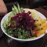 美琉太陽 - 島野菜のサラダ