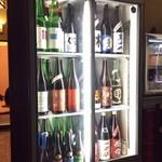 四季肴酒家 きなり - H28.10.29 レイアウト変更された冷蔵庫