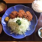 58504448 - ヒレのトンカツ定食¥1580