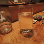 はつね寿司 - 麒麟山酒造の仕込み水