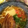 がじゅまるの木 - 料理写真:沖縄そば(*^^*)