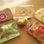 58506973 - シフォンケーキ アップルパイ ゆべし 揚げ饅頭