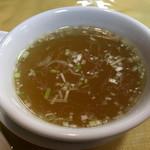 甲子亭 - スープ