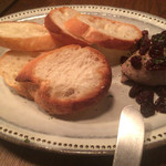 ビストロ ヴァンテオ - 地鶏白レバのパテ