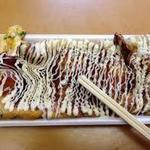 いか焼 やきや - いか焼ねぎ+マヨーネーズトッピング(ねぎの人気は不動のもの。是非味わって下さい)