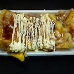 いか焼 やきや - ぶた焼チーズ(ぶた焼数量限定の商品。早いときは13時くらいには売り切れます。)お早めにどうぞ!