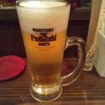 ワインバー ヌーバ - 生ビール(480円)
