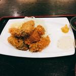 富水 - 牡蠣フライ