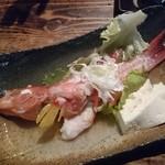 一郎屋 - セレクトした魚をマース煮にて