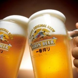 毎日!21時から来店されたお客様☆生ビール198円(税込)☆