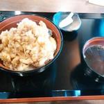 あげ丼CYAYA よし - かき揚げ丼980円