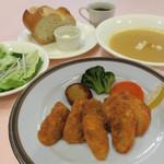 牡蠣フライランチ(広島県産)