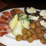 ボッテガビオラ - 前菜の盛り合わせ