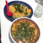 どうとんぼり神座 - つけ麺 温麺 1.5玉