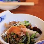 油屋食堂 - 山菜(おつまみ)